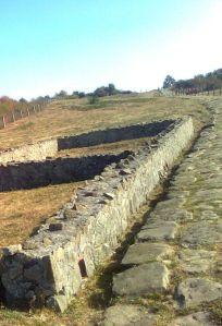 Unul din templele care mărgineau drumul spre vama romană ©7C