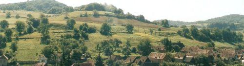 Peisaj tipic Transilvaniei saxone ©7C