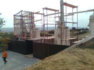Poarta II, în reconstrucţie ©7C