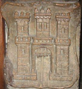 Stema de la baza stângă a tocului uşii sacristiei din Biserica Sfântul Mihail ©7C