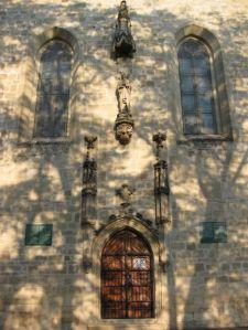 Faţada vestică a bisericii ©