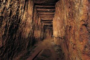 Mină romană din zona Roşia Montană